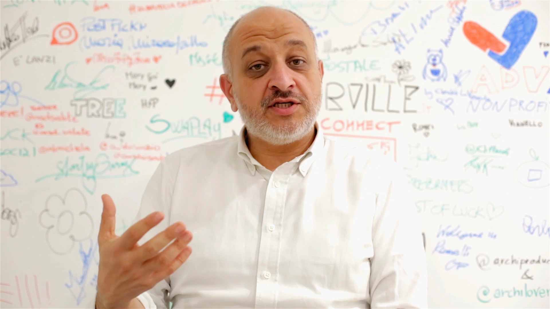 Nicola Mattina a Binario F Presenta lo Smart Community Lab