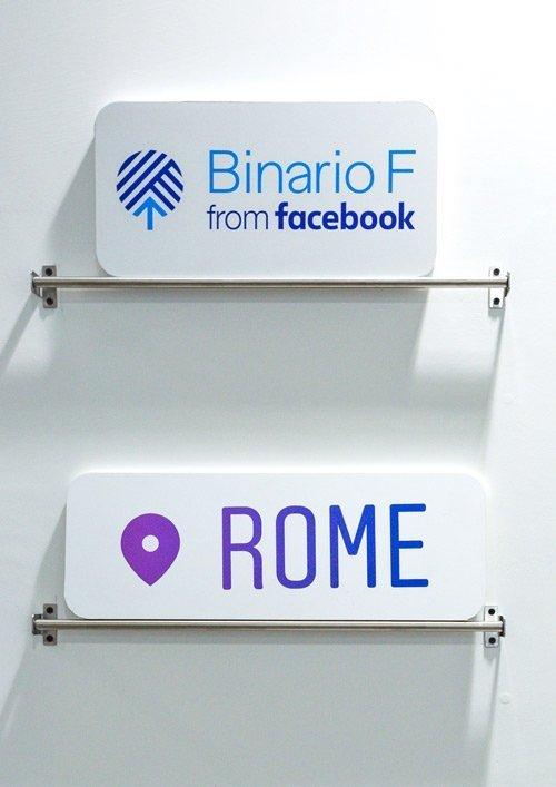 Foto del logo di Binario F